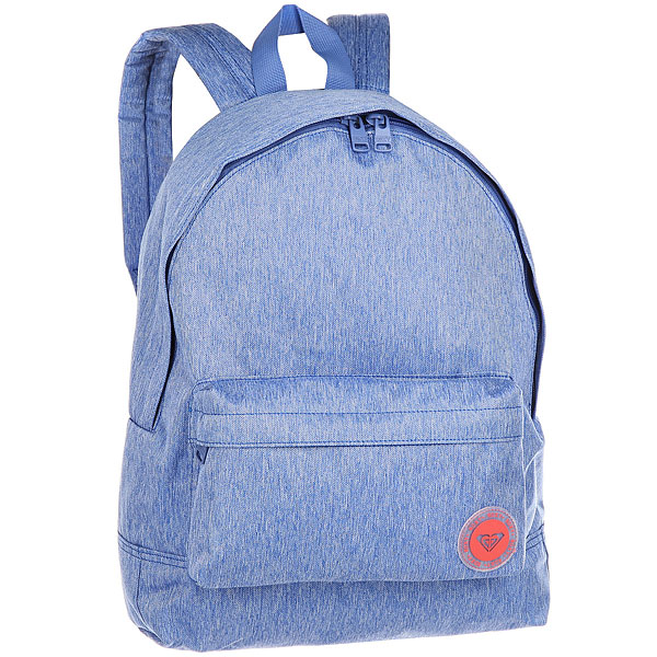 Рюкзак городской женский Roxy Sugar Baby Dazzling BlueКомпактный женский рюкзак Sugar Baby из новой коллекции ROXY.Технические характеристики: Яркий дизайн.Одно основное отделение на молнии.Передний карман для аксессуаров.Мягкие лямки и ручка для переноски.Нашивка с логотипом.<br><br>Цвет: Темно-голубой<br>Тип: Рюкзак городской<br>Возраст: Взрослый<br>Пол: Женский