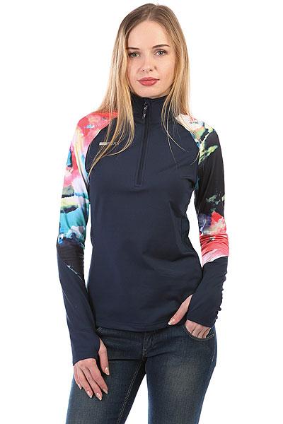 Толстовка сноубордическая женская Roxy Kiw Dress Blue Cloud Nin<br><br>Цвет: синий,мультиколор<br>Тип: Толстовка сноубордическая<br>Возраст: Взрослый<br>Пол: Женский