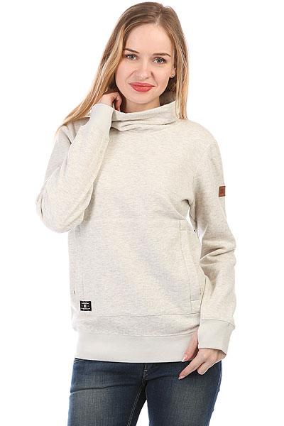 Толстовка сноубордическая женская DC Veneer Silver Birch<br><br>Цвет: серый<br>Тип: Толстовка сноубордическая<br>Возраст: Взрослый<br>Пол: Женский