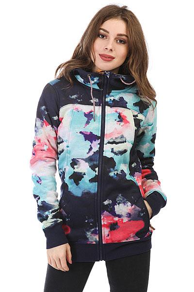 Толстовка сноубордическая женская Roxy Frost Printed Neon Grapefruit_clou<br><br>Цвет: мультиколор<br>Тип: Толстовка сноубордическая<br>Возраст: Взрослый<br>Пол: Женский