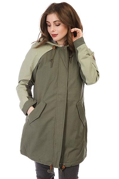 Куртка парка женская Roxy Moonlightdance Dusty Olive<br><br>Цвет: зеленый<br>Тип: Куртка парка<br>Возраст: Взрослый<br>Пол: Женский
