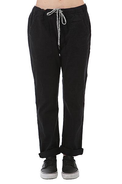 цены на Штаны прямые женские Roxy Dudepant Anthracite в интернет-магазинах