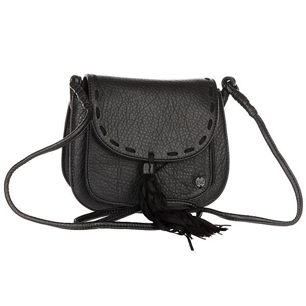 Клатч женский Billabong Steady On BlackЖенская сумочка для солнечных дней и танцевальных ночей. Создана, чтобы вместить самое необходимое!Технические характеристики: Текстурированная искусственная кожа.Тонкий ремешок.Основное отделение с клапаном.Металлический значок с логотипом.<br><br>Цвет: черный<br>Тип: Клатч<br>Возраст: Взрослый<br>Пол: Женский