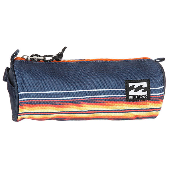 где купить Пенал Billabong Barrel Pencil Case Navy дешево