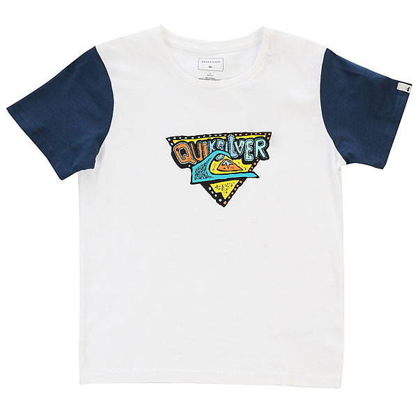 Футболка детская Quiksilver Ssclateboysuper White