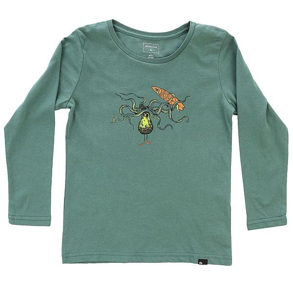 Лонгслив детский Quiksilver Lscltebolospoul K Silver Pine<br><br>Цвет: зеленый<br>Тип: Лонгслив<br>Возраст: Детский