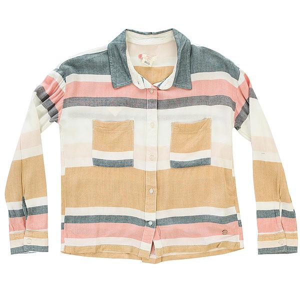 Блузка детская Roxy Unexpectedbeaut G Marshmallow Blanket<br><br>Цвет: мультиколор<br>Тип: Блузка<br>Возраст: Детский