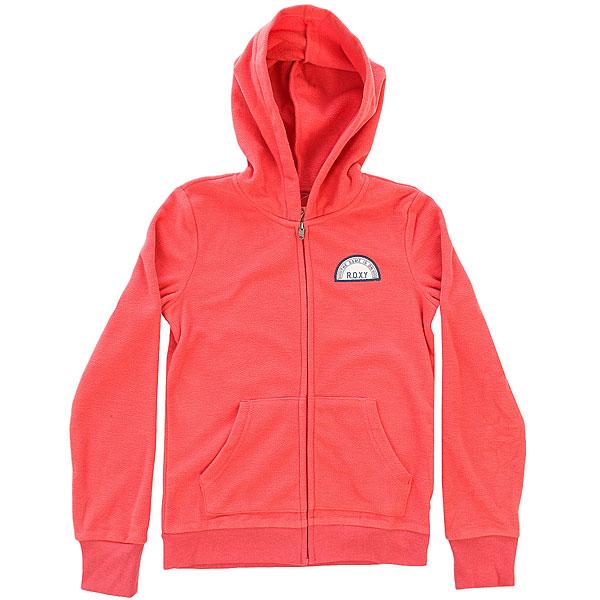 Толстовка сноубордическая детская Roxy Colorfulmatter G Plfl Spiced Coral Heather<br><br>Цвет: розовый<br>Тип: Толстовка сноубордическая<br>Возраст: Детский