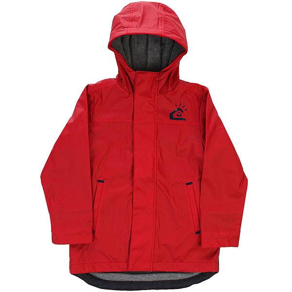 Куртка детская Quiksilver Maladoboy K Jckt Chili PepperДетская демисезонная куртка Quiksilver Maladoboy.Характеристики:Внутренняя текстильная подкладка.Застежка – молния. Фиксированный капюшон. Прорезные карманы для рук на молнии.<br><br>Цвет: бордовый<br>Тип: Куртка<br>Возраст: Детский