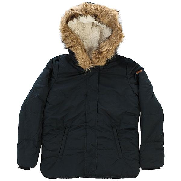 Куртка зимняя детская Roxy Evergreentre G Jckt Anthracite куртка зимняя детская roxy baggy times bright pink