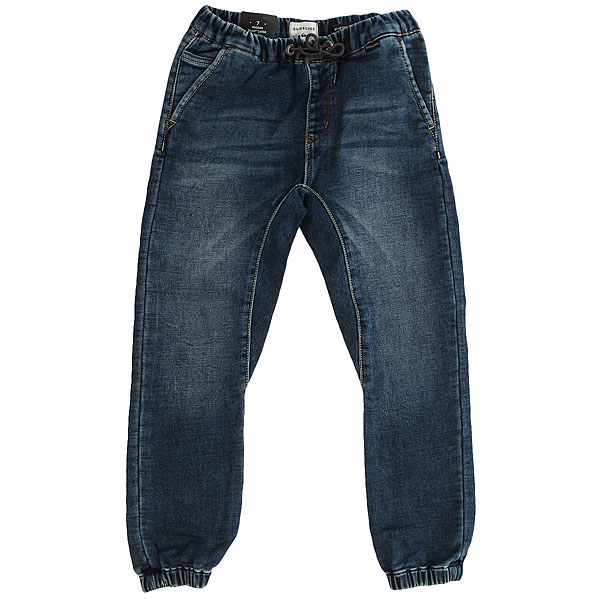 Штаны прямые детские Quiksilver Fonicflhashblby K Pant Hash Blue<br><br>Цвет: синий<br>Тип: Штаны прямые<br>Возраст: Детский