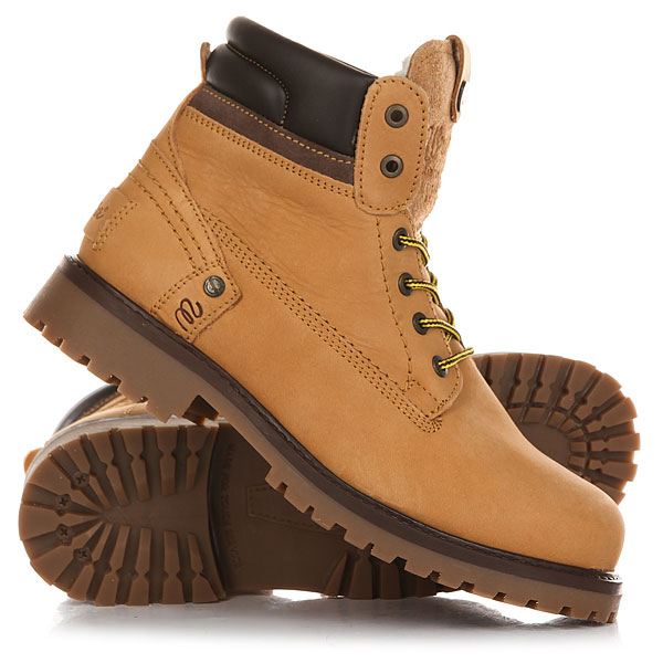 Ботинки зимние Wrangler Yuma Creek Tan Yellow цены онлайн