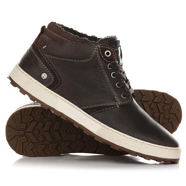 Кеды кроссовки зимние Wrangler Bruce Desert Anthracite<br><br>Цвет: коричневый<br>Тип: Кеды зимние<br>Возраст: Взрослый<br>Пол: Мужской