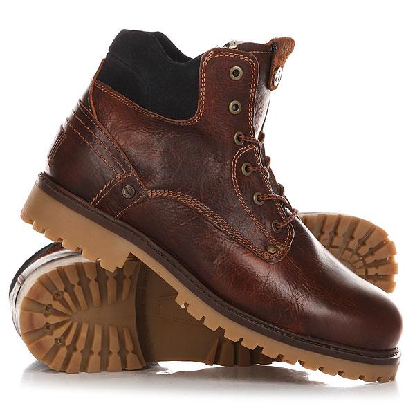 Ботинки зимние Wrangler Yuma Creek Felt Fur Rust<br><br>Цвет: коричневый<br>Тип: Ботинки зимние<br>Возраст: Взрослый<br>Пол: Мужской