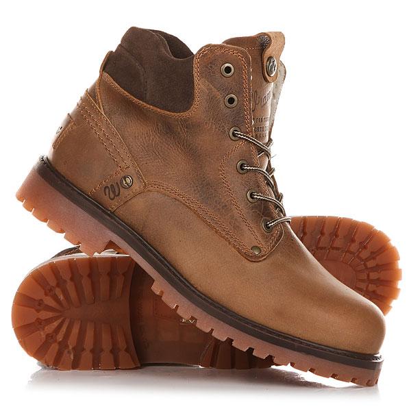 Ботинки зимние Wrangler Yuma Fur Deep Brown