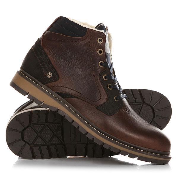 Ботинки зимние Wrangler Miwouk Fur Dark Brown