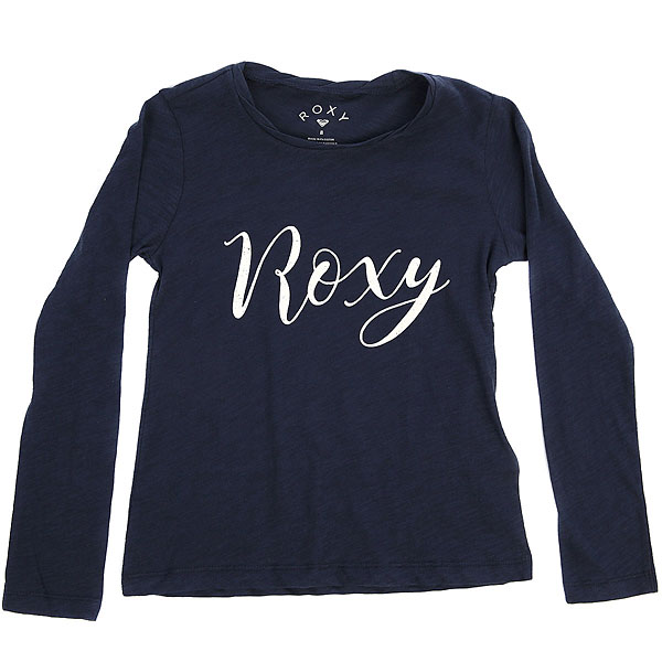 Лонгслив детский Roxy Gradualawakeb Dress Blues<br><br>Цвет: синий<br>Тип: Лонгслив<br>Возраст: Детский