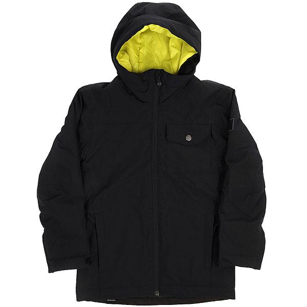 Куртка утепленная детский Quiksilver Miss Sol You Black
