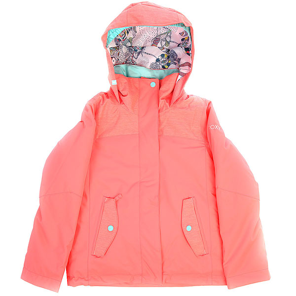 Куртка утепленная детская Roxy Jetty So Neon GrapefruitСноубордическая куртка ROXY Jetty с мембраной 10K ROXY DryFlight®.Технические характеристики: Водостойкая мембрана 10K ROXY DryFlight®.Саржа из полиэстера.Классический крой.Утеплитель Warmflight® (тело — 200 г, рукава — 140 г, капюшон — 60 г).Подкладка из тафты со вставками из трикотажа с начесом.Все основные швы проклеены.Удобный капюшон совместим со шлемом.Карманы для рук, карман для скипасса.Фиксированная снежная юбка.Застежка на молнию с ветрозащитным клапаном.<br><br>Цвет: Темно-розовый<br>Тип: Куртка утепленная<br>Возраст: Детский