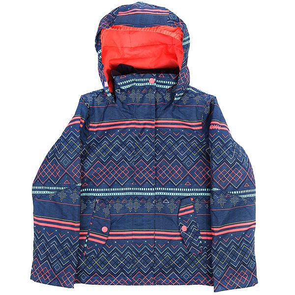 Куртка утепленная детская Roxy Jet Girl Sodalite Blue