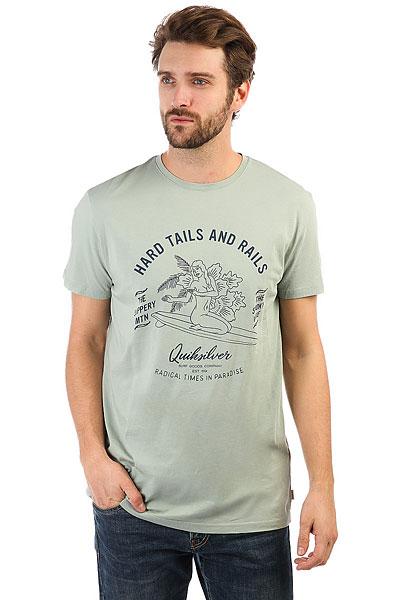 Футболка Quiksilver Garmtehardtails Slate Gray футболка aeronautica militare 172ts1425j309 34295