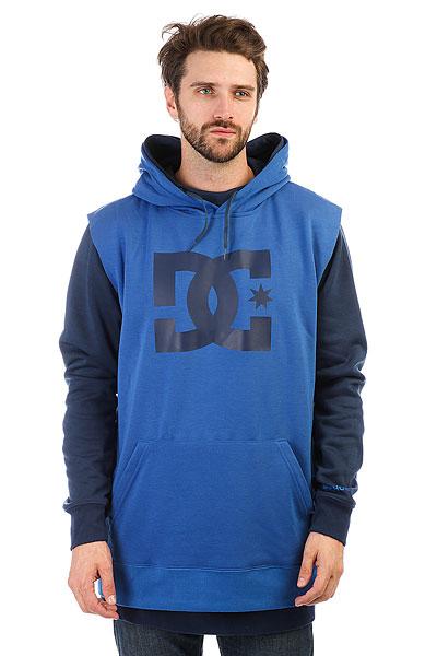 Толстовка сноубордическая DC Dryden Insignia Blue<br><br>Цвет: синий<br>Тип: Толстовка сноубордическая<br>Возраст: Взрослый<br>Пол: Мужской