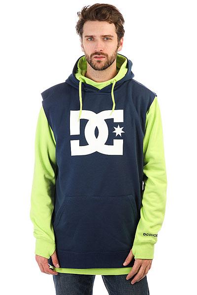 Толстовка сноубордическая DC Dryden Tender Shots<br><br>Цвет: синий,зеленый<br>Тип: Толстовка сноубордическая<br>Возраст: Взрослый<br>Пол: Мужской