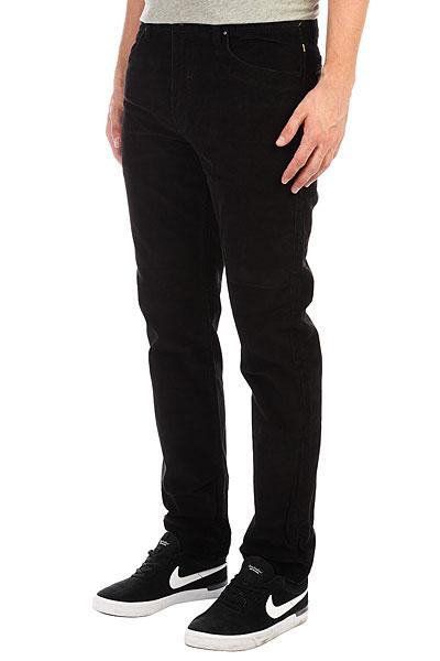 Джинсы прямые Quiksilver Cordedsurfpant Black футболка anteater 348 black