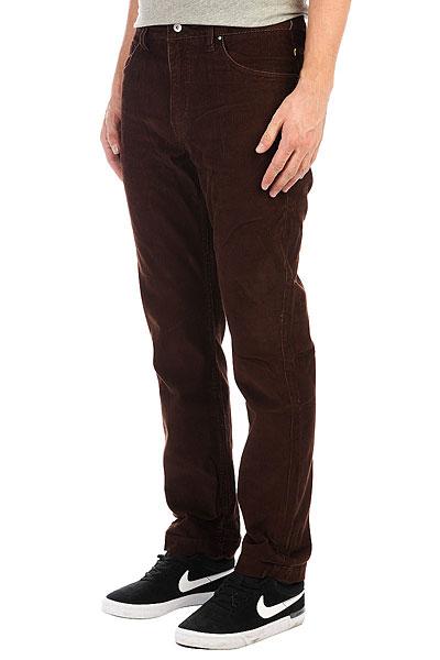 Джинсы прямые Quiksilver Cordedsurfpant Chocolate<br><br>Цвет: коричневый<br>Тип: Джинсы прямые<br>Возраст: Взрослый<br>Пол: Мужской