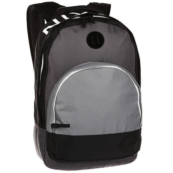 цена Рюкзак городской Nixon Backpack Black/Dark Gray онлайн в 2017 году