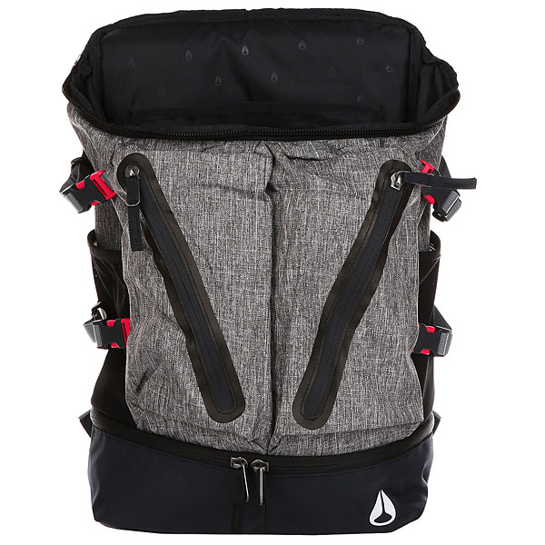 Рюкзак городской Nixon Scripps Backpack Black Wash/Navy