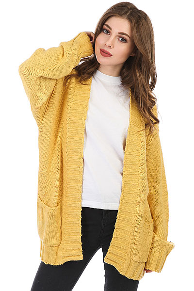 Кардиган женский Billabong Luna Day Cardi Gold Dust цена 2017