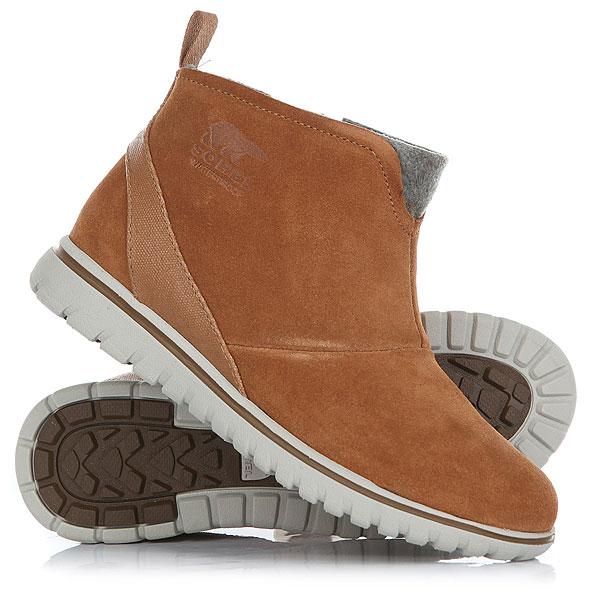 Ботинки высокие женские Sorel Cozy Short Elk<br><br>Цвет: коричневый<br>Тип: Ботинки высокие<br>Возраст: Взрослый<br>Пол: Женский