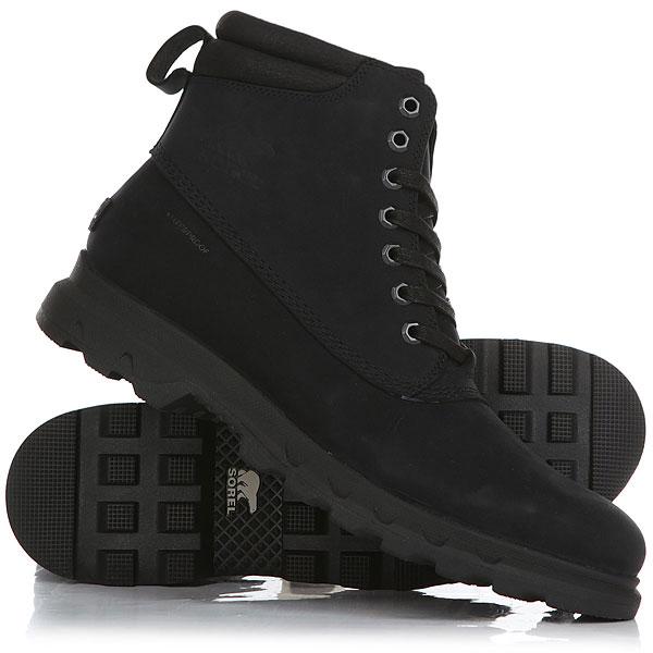 где купить Ботинки высокие Sorel Portzman Lace Black по лучшей цене
