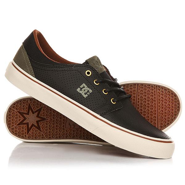 Кеды кроссовки низкие DC Trase Se Black dc shoes кеды dc heathrow se 11