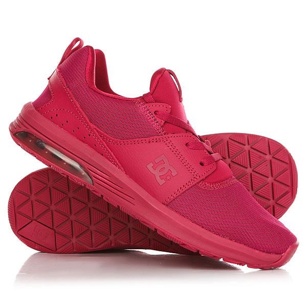 Кроссовки женские DC Heathrow Ia Raspberry кроссовки dc shoes heathrow ia tr black