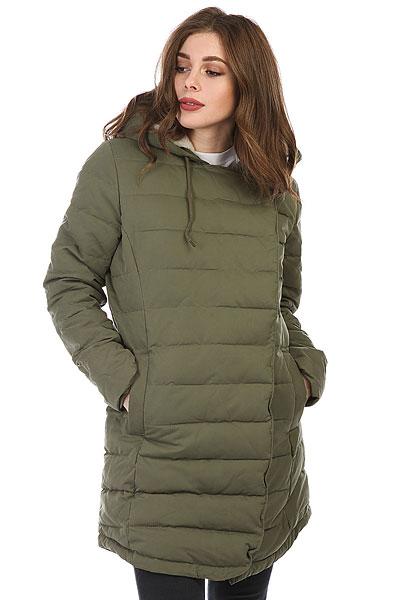 Куртка парка женская Roxy Glassycoast Gpb0 Dusty Olive куртка парка женская roxy ferley j military olive