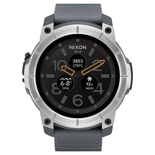 Кварцевые часы Nixon Mission Concrete<br><br>Цвет: серый<br>Тип: Кварцевые часы<br>Возраст: Взрослый<br>Пол: Мужской