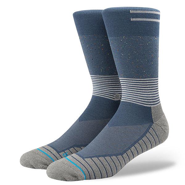 Носки высокие Stance Alcala Navy<br><br>Цвет: серый,Светло-синий<br>Тип: Носки высокие<br>Возраст: Взрослый<br>Пол: Мужской