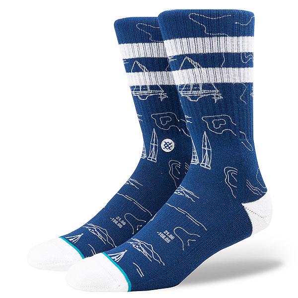 Носки высокие Stance Blue Navigator<br><br>Цвет: синий<br>Тип: Носки высокие<br>Возраст: Взрослый<br>Пол: Мужской