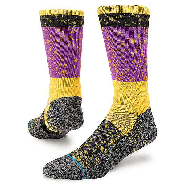 Носки высокие Stance Fusion Athletic Rain<br><br>Цвет: мультиколор<br>Тип: Носки высокие<br>Возраст: Взрослый<br>Пол: Мужской