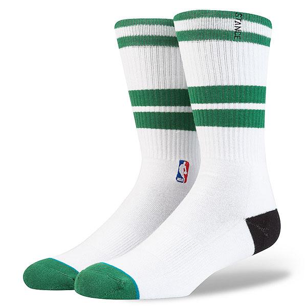 Носки высокие Stance Nba Oncourt Core Crew Celtics<br><br>Цвет: белый<br>Тип: Носки высокие<br>Возраст: Взрослый<br>Пол: Мужской