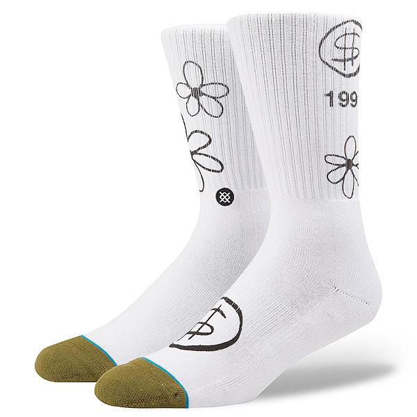 Носки высокие Stance Skateboarding Days White<br><br>Цвет: белый<br>Тип: Носки высокие<br>Возраст: Взрослый<br>Пол: Мужской
