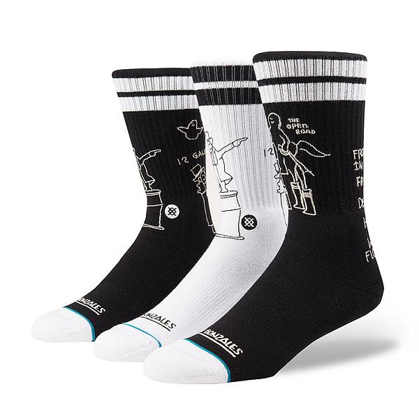 Носки высокие Stance Skateboarding Shell<br><br>Цвет: черный<br>Тип: Носки высокие<br>Возраст: Взрослый<br>Пол: Мужской