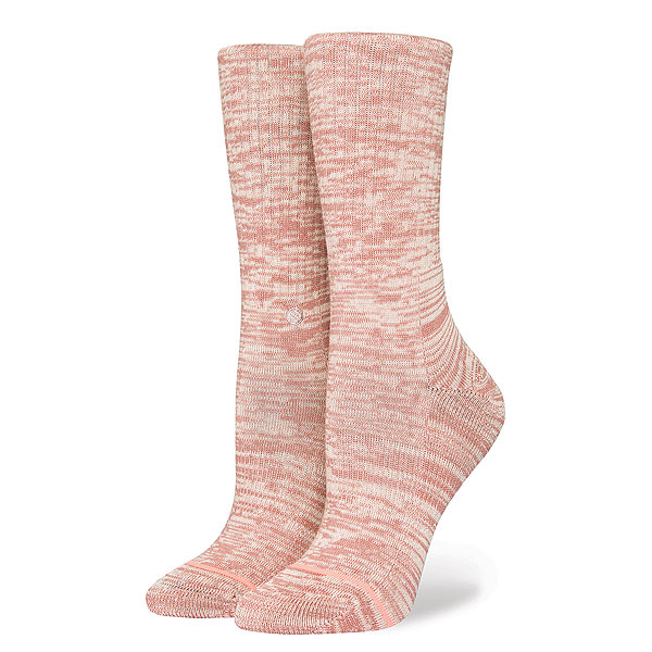 Носки высокие женский Stance Uncommon Solids Classic Rose носки высокие stance uncommon solids domain mid white
