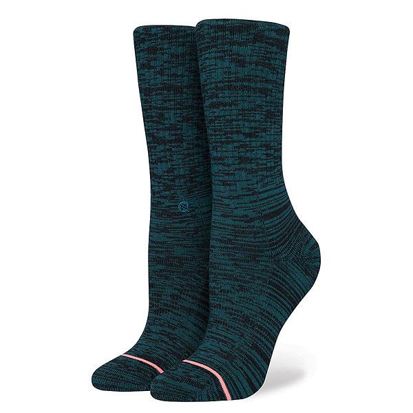 Носки высокие женские Stance Uncommon Solids Classic Teal носки высокие stance uncommon solids domain mid white