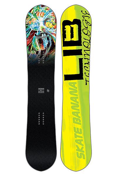 Сноуборд Lib Tech SK8 BANANA PARILСозданный для побед сноуборд Skate Banana, на котором легко кататься и получить максимальную производительность. Летит, как стрела, и плавно плывет по снегу! Графика от Mike Parillo.Технические характеристики: Форма  True Twin.Прогиб Original Banana - рокер в центре и средний кэмбер по краям.Технология MAGNE-TRACTION® - сноуборд отлично ведет себя на жестком снегу и на льду.Сердечник из разных сортов дерева ASPEN/COLUMBIAN GOLD.Комбинированное стекловолокно TRI-AX/BI-AX.Верхний слой Eco Sub POLY TOP.Скоростной скользяк TNT.Боковины, нос и хвост из высокомолекулярного материала UHMW.Внутренние боковины из березы (Birch Internal Sidewalls).<br><br>Цвет: желтый<br>Тип: Сноуборд<br>Возраст: Взрослый<br>Пол: Мужской