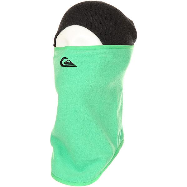 Балаклава Quiksilver Casper Collar Kelly Green<br><br>Цвет: зеленый<br>Тип: Шарф труба<br>Возраст: Взрослый<br>Пол: Мужской