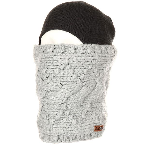 Шарф труба женский Roxy Winter Collar Bright White<br><br>Цвет: бежевый<br>Тип: Шарф труба<br>Возраст: Взрослый<br>Пол: Женский