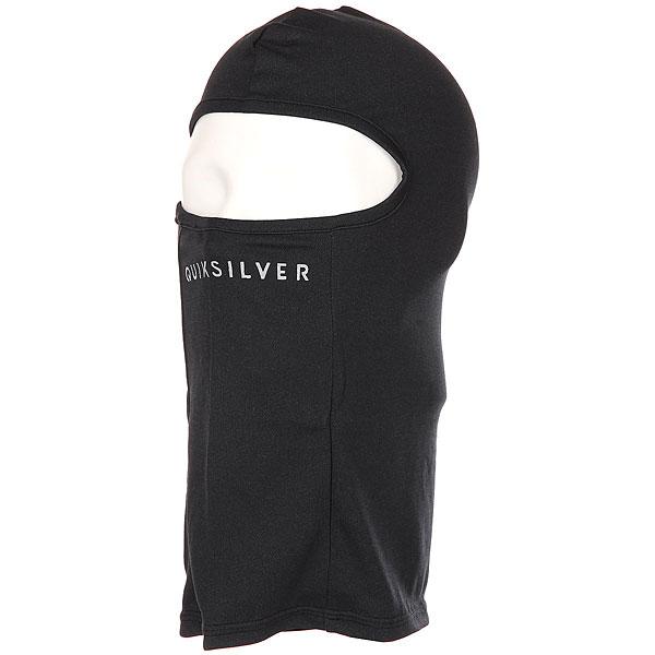 Балаклава Quiksilver Lightweight Black<br><br>Цвет: черный<br>Тип: Балаклава<br>Возраст: Взрослый<br>Пол: Мужской